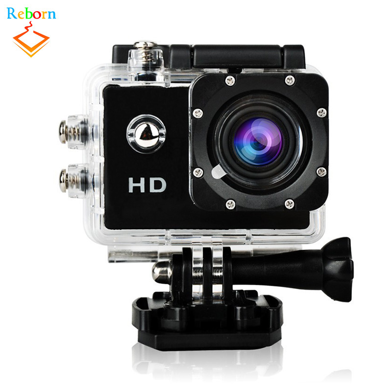 Cheap Wifi Wireless HD Underwater Waterproof Mini Video Sport Action Camera for ourdoor sports