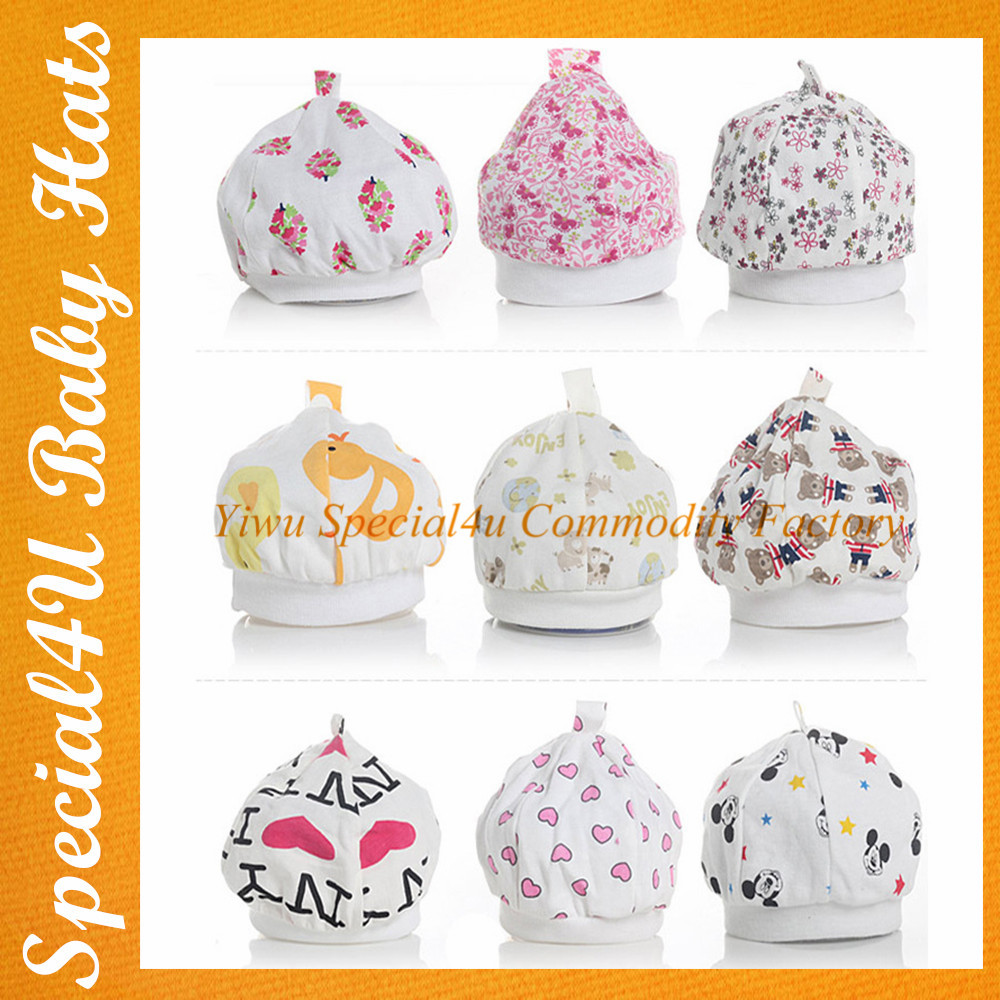 Wholesale cotton crochet Knitting Pattern infant baby hat Baby Beanie Hat SHLY-1381