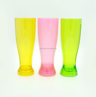 wholesale pilsner beer glass/beer glass cup 2016 customized best seller beer glass glow cup