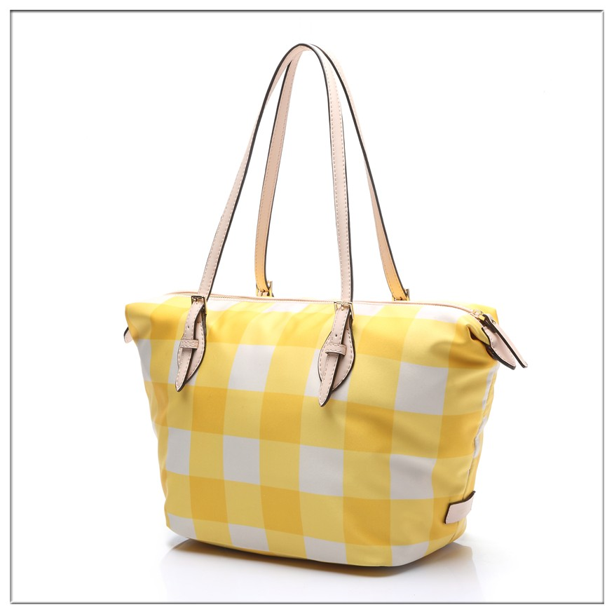 summer yellow fashion leather purses and genuine leather handbags 2016