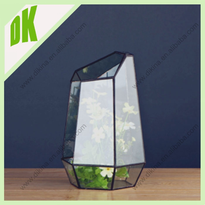 Watering can garden planter terracotta geometric glass pot // Garden outdoor decoration frog flower pot