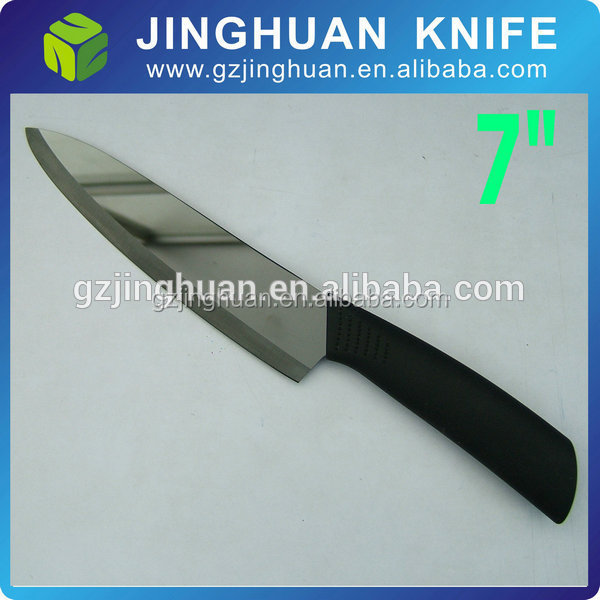 Black Blade Mirror Polished Ceramic Knife