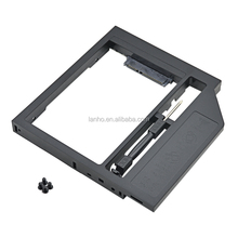 New Universal Plastic 2nd HDD Caddy 12.7mm SATA 3.0 for 2.5'' 7/9/9.5/12.5mm SSD HDD Box Case Enclosure Adapter DVD-ROM Optibay