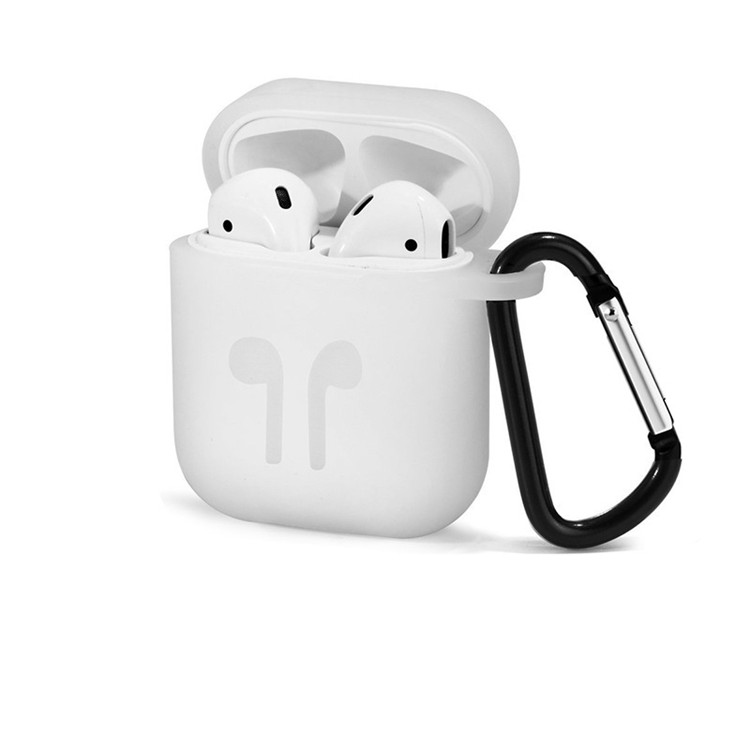 Free sample Full skin protective Soft <strong>Silicone</strong> anti lost clips Shockproof Case For Airpods