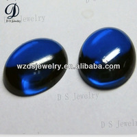 Best synthetic oval shape 113# spinel sapphire blue stone made in China