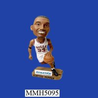 Scottie Pippen resin dashboard bobble head