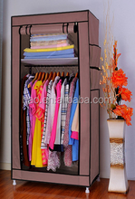 Wholsale single door Modern style wardrobe closet storage