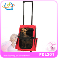 Pet Carry Bag Dog Cat Puppy Carrier with Wheels