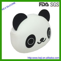 China panda brand name silicone coin purse