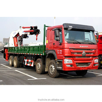 Factory sale 20 to 160 ton crane truck, truck with crane