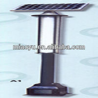 High Quality LED solar garden lighting pole light