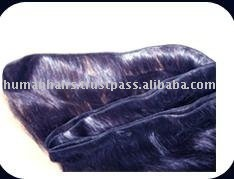 Soft touch machine weft hair