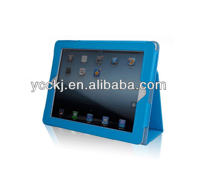 brand new 2014 Sleep Wake Magnetic PU Leather Folio Stand Case Smart Cover Holder for iPad Mini china supplier