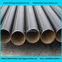 ERW welded carbon steel round pipe and tubes