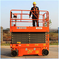 Small safety electric scissor lift