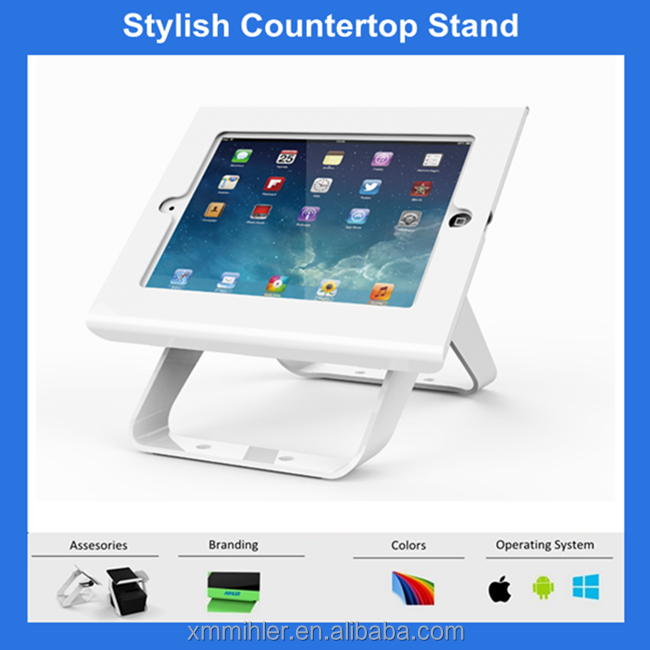 Mihler SC-301 Stylish Rotating Metal Tablet Stand
