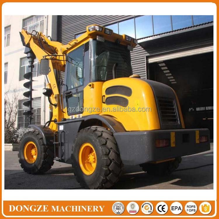 Small wheel loader cargador frontal with Cummin s engine