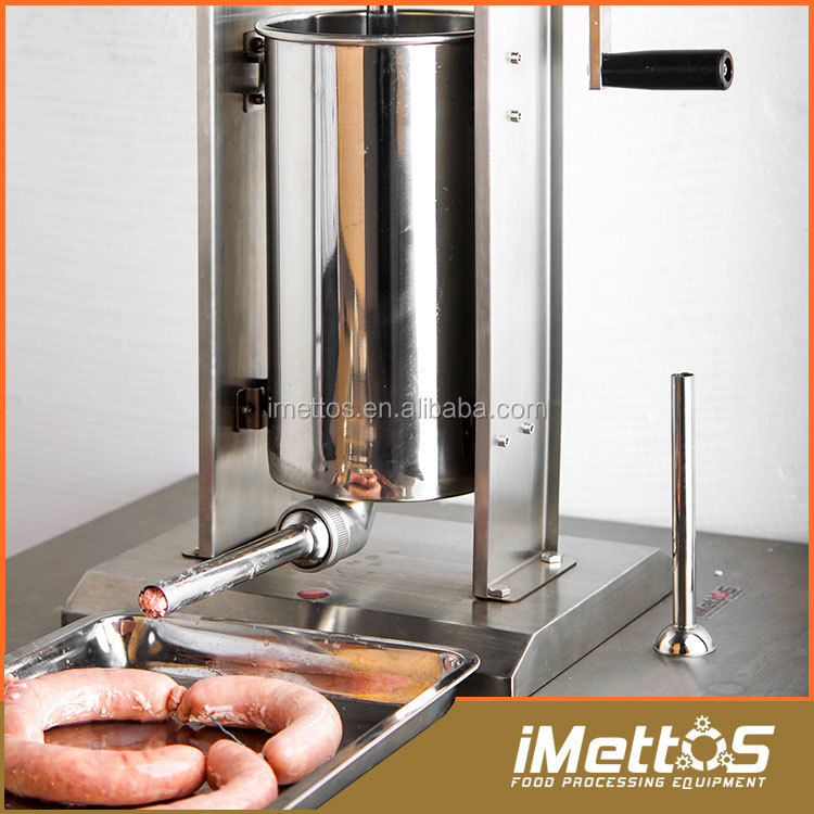 Hot sale Double speed iMettos stainless steel second hand sausage fillers 7L