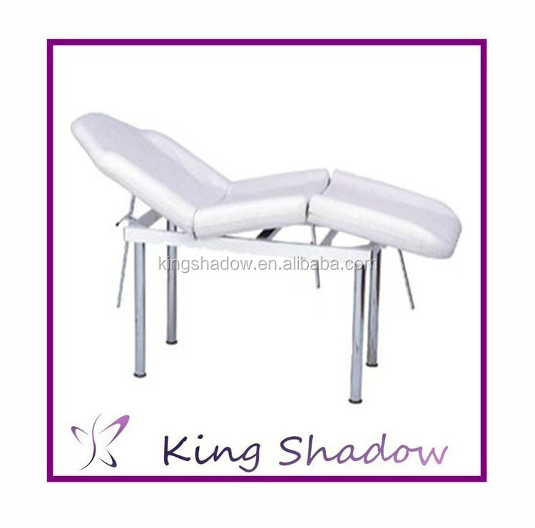 Comfortable Beauty Bed Beauty Salon Facial Bed Soild Wood Spa Furniture