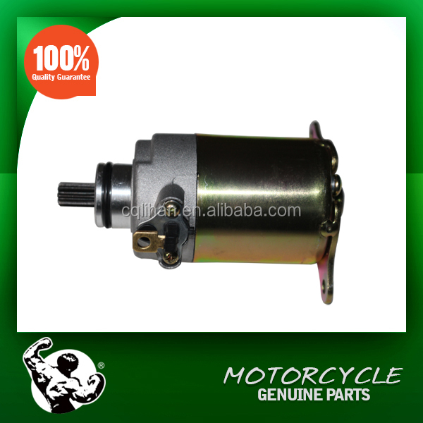 China Sale High Quality Motorcycle Engine Parts GY6 125CC Starter Motor