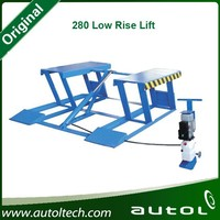2014 Manual/Mobile Machine/Low Rise Moveable Scissor Lift 280 Low Rise Lift