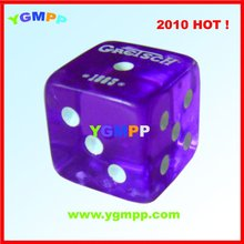 Sell YGM-PD008 plastic dice,flashing dice,printing dice