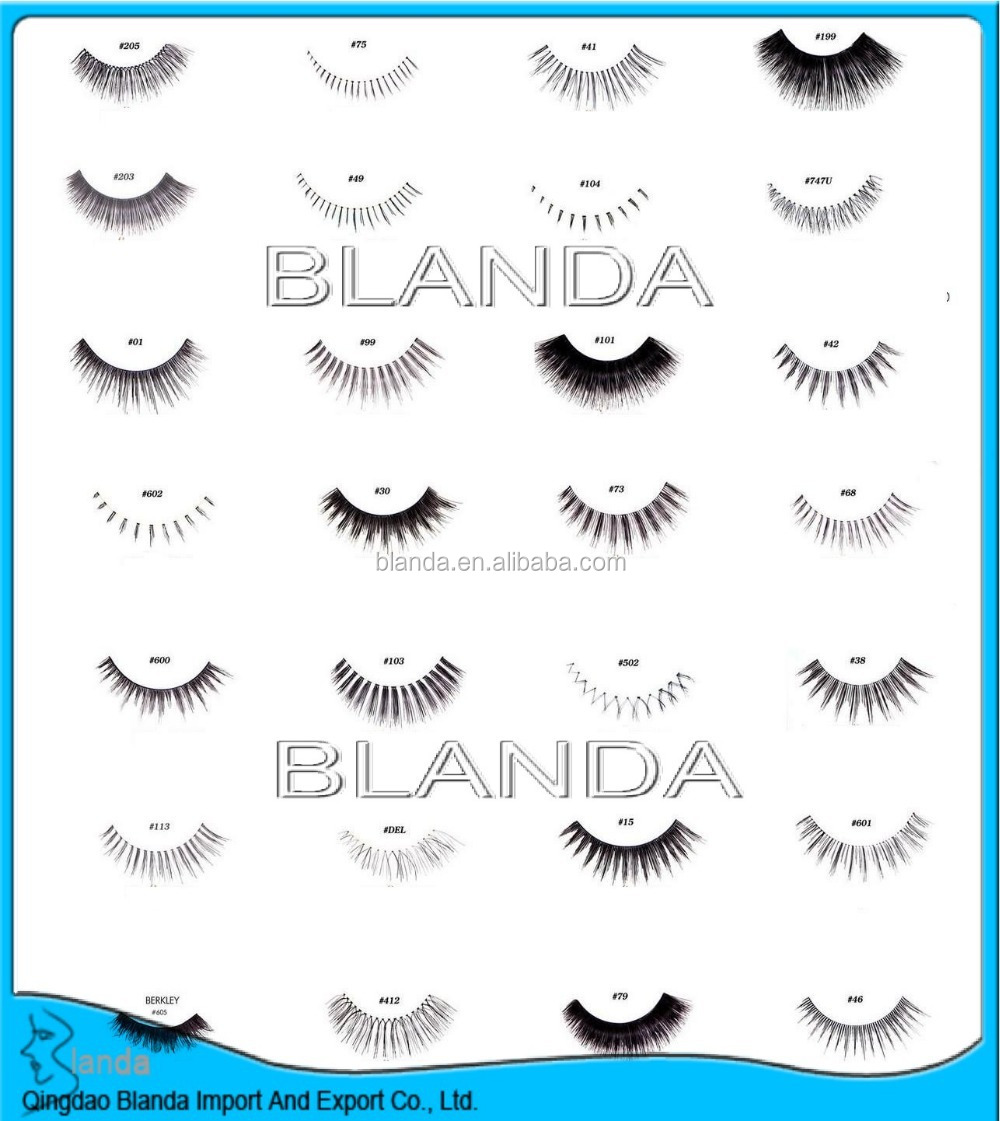 2017 wholesale private label false eyelash and eyelash with private label box