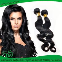 Permanent hair fixing sensational raw brazilian hair
