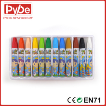 6pcs/12pcs/18pcs /24pcs Hexagonal oil pastel in crayon for children artists