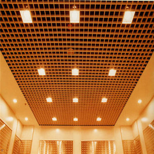Station Decorative Open Metal Grid Ceiling