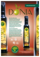 Organic Extra Virgin Olive Oil - DONIA FURITY
