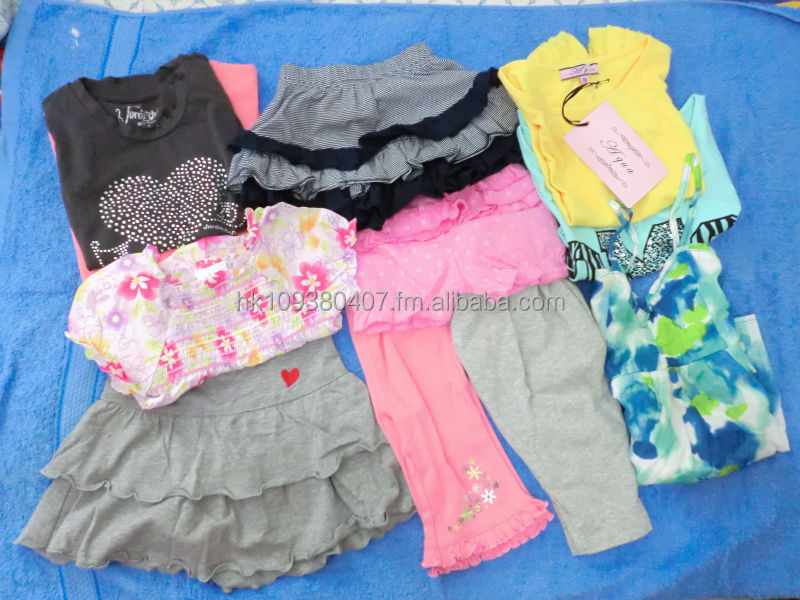 Wholesale Lot New Summer Autumn Spring Winter Assorted Children Clothing Brand Names