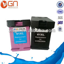 Factory direct sale Remanufactured Ink Cartrdge HP61XL(the latest version)