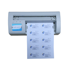 Automatic Business Card Cutter Electric paper name card Cutter 90*54mm for sales