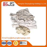 White cotton waste cloth rags in bulk use for cleaning wholesale in china