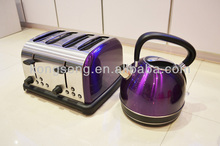 1.7L Electric Kettle And 4 Slices Toaster / Breakfast Set