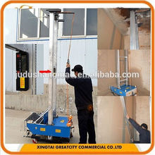 Automatic exterior wall plaster machine / Cement plastering machine