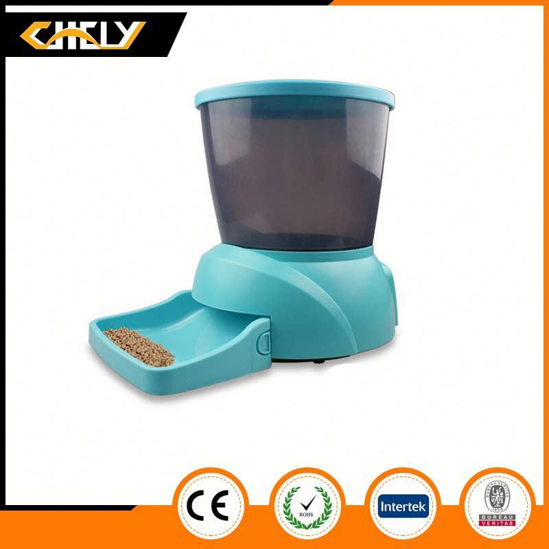 New design hot sale Golden supplier automatic pond fish food feeder