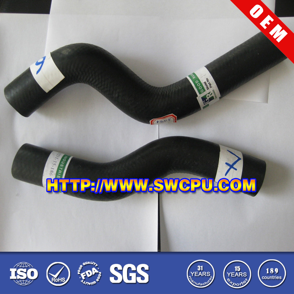 Custom water tank molded elbow rubber hose