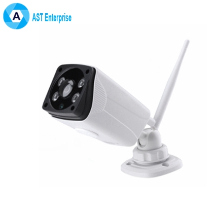 IP Camera Wifi 720P ONVIF Wireless Wired P2P CCTV Bullet Outdoor Camera With MiscroSD Card Slot Max 128G