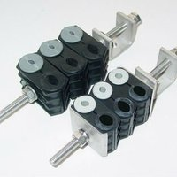 Fiber And Power Cable Clamp