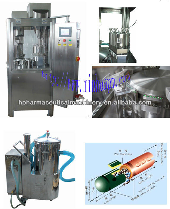 NJP-800C hard 000 capsule filling machine