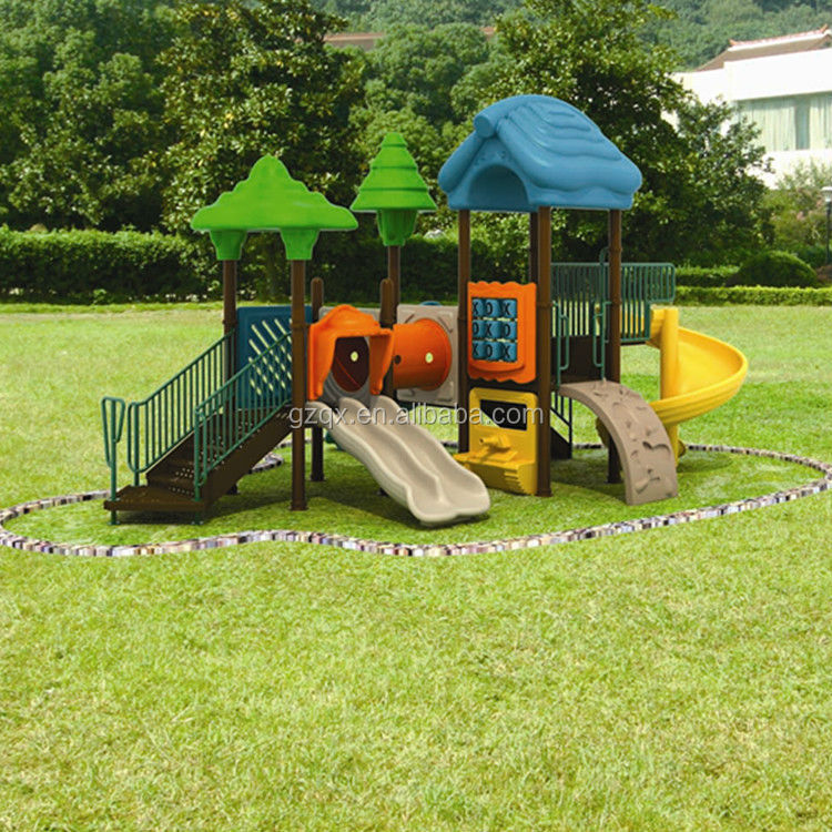 Cheap Child Safe kids outdoor playsets childrens garden toys outdoor toys for boys QX-B1002