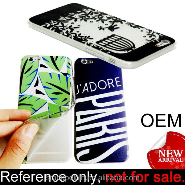 New arrival custom logo cheap tpu mobile case for iphone 6 plus case