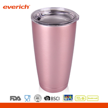 20oz Everich BPA Free Stainless Steel Double Wall Rose Gold Office Beer Mug