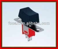 CE,TUV Sub-miniature Rocker and lever Handle Switch SPDT 3pin on-off-on