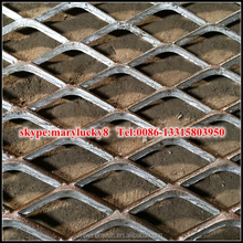Aluminum expanded metal mesh/Square Hole Expanded Metal lath