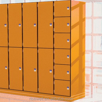CE & RoHs & TUV & ISO Certificates Chinese Locker Manufacturer Hpl Locker