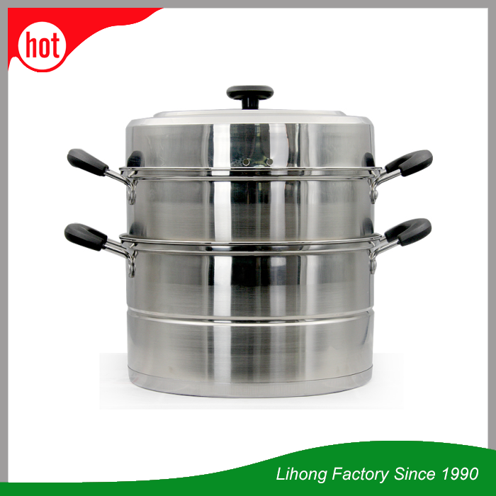 2 3 Layers Professional Stainless Steel Food Idli Steamer