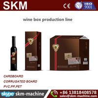 Wine box production line